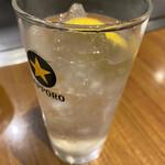 鯉々 - レモンサワー