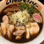 とりそばモリゾー - 鶏そば (*´ω`*) 麺L