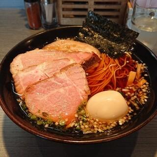 らぁめん 喜乃壺 - 料理写真:鶏支那蕎麦(醤油) チャーシュー、味玉プラスです。