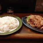カレーショップ桐島屋 - 焼肉ランチ(大盛り)830円+大盛り50円