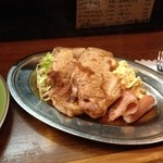カレーショップ桐島屋 - 焼肉ランチ(アップ)