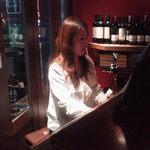 12633674 - 本日の美人ピアニスト。(撮影許可もらいました。)
