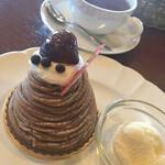 アルビノール - 料理写真:アイス付き