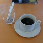 田舎の居酒屋 かじや - コーヒー(アジフライ定食)