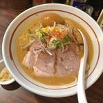 らー麺 あけどや - あけどや味噌ら〜麺