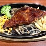 ハドウス - 料理写真:120g牛ロースステーキ