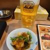 ジャンボ やき鳥 つかさ - 料理写真:ビールとお通し