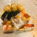 126339008 - 鯖いなり&上箱寿司