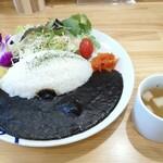 ココ カフェ&グッズ - 黒カレーです。(2020年2月)