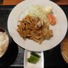 食堂 じみち - 料理写真:生姜焼き定食