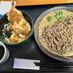 126349306 - 天丼そばセット800円