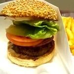 中村屋アットウエストパークカフェ - 2012/04 お肉が小さいですね・・・