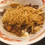 Tsurumen - どてそばの麺