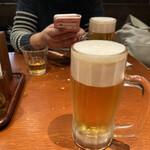 島ぬ風 - 2020年2月23日  オリオンドラフト生ビール 550円