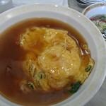 餃子の王将 - 料理写真:天津飯:しょうゆ