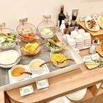 ティーケーピー カフェテリア - ※休止中※【朝食ビュッフェ】サラダコーナー