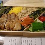 塩尻しなの - 料理写真:とりめし弁当です☆ 2020-0225訪問