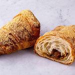 ブリオッシュ・ドーレ&カフェ - 2020年3月1日新メニュー発売!「きな粉とわらび餅のクロワッサン」
