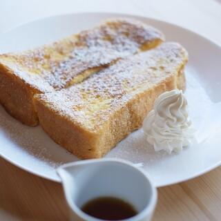 一番人気の『宣教師が愛したフレンチトースト』は必食です◎
