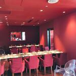 イグレック ベガ - 真っ赤な空間で美味しいお料理を頂きます♡
