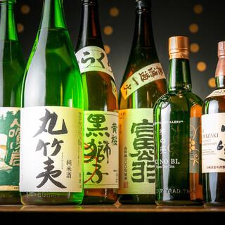 鉄板料理と共に味わう。地元・京都の地酒&ジンで至福の時間を。