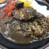 カレーショップ90番 - 料理写真:ハンバーグカレー850円