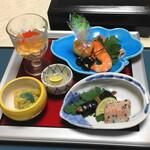 雲仙宮崎旅館 - 料理写真:前菜