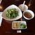 チャイナワン - 料理写真:大きなサラダ、前菜、スープ