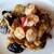 チャイナワン - 料理写真:海老と茄子の天ぷらみたいのを炒めたもの