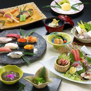 充実のコース料理は晴れの日の会食や接待にもおすすめ