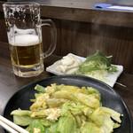 126381296 - キャベ玉(小)とポテトサラダ