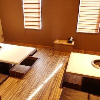 ★個室完備★お座敷・テーブル席など様々なシーンに対応