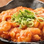 中華dining天鳳 - 料理写真:エビのチリソース