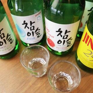 韓国で大人気のチャミソルもご用意◎