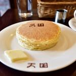 珈琲 天国 - ホットケーキセット@1,100円