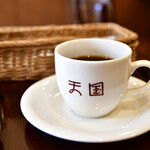 珈琲 天国 - 【ホットケーキセット@1,100円】ホットコーヒー