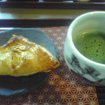 1264812 - 抹茶とアップルパイのセット