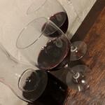 イル・ピッツァイオーロ - 赤ワインのデキャンタ
