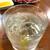 居酒屋つかさ - ドリンク写真:焼酎ロック