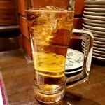 鳥太郎 - 紅茶ハイ 380円
