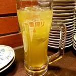 鳥太郎 - 生茶ハイ 380円
