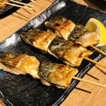 SABAR+ - やっぱりこれ!焼き鯖串です。ジューシィで脂がよくのっていますヽ(´▽`)/