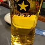 126423327 - 生ビール 旨いね