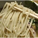126424515 - 食感も風味も素晴らしい麺。