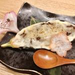 焼きとり 鳥さわ - 松阪牛そぼろチーズ味噌田楽 650円