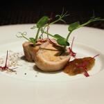 イタリアンレストラン ピーノ - ウサギ肉とフォアグラ