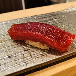 鮨わたなべ - 『最後のお寿司3種』