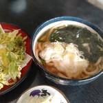 平九郎茶屋 - とろろうどんとふきのとうの天ぷら