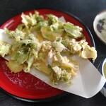 平九郎茶屋 - ふきのとうの天ぷら