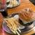 ハニービー - 料理写真:ハニービー@横須賀 レギュラー ネイビーバーガーコンボ(1980円内)